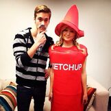 Austin, Olivia aka Mustasho and Ketchup