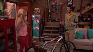 He realized he stole the bike!