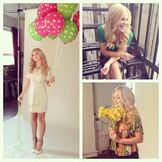 Olivia with Balloons