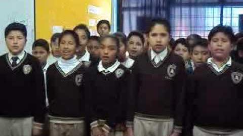 Himno nacional en nahuatl grupal