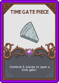 Time Gate Piece Card