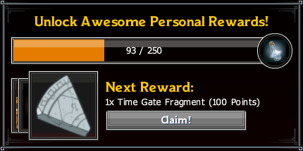 High Rollers Rogue's Gambit Personal Rewards