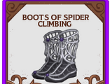 Hitch/Boots of Spider Climbing
