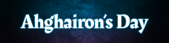 Ahghairon's Day Banner