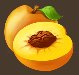 Fruits peach
