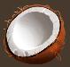 Fruits coconut