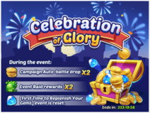 Celebration of Glory Event