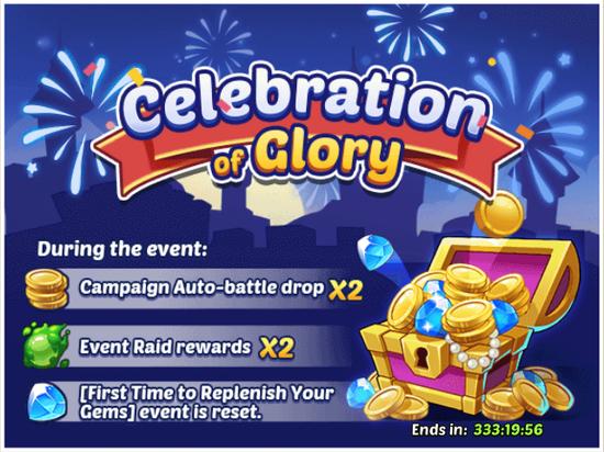 Celebration of Glory Event