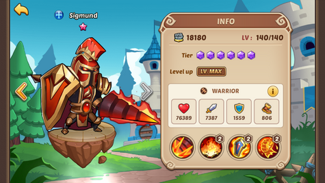 Sigmund | IdleHeroes Wiki | FANDOM powered by Wikia