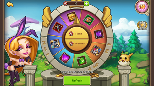 idle heroes casino refresh