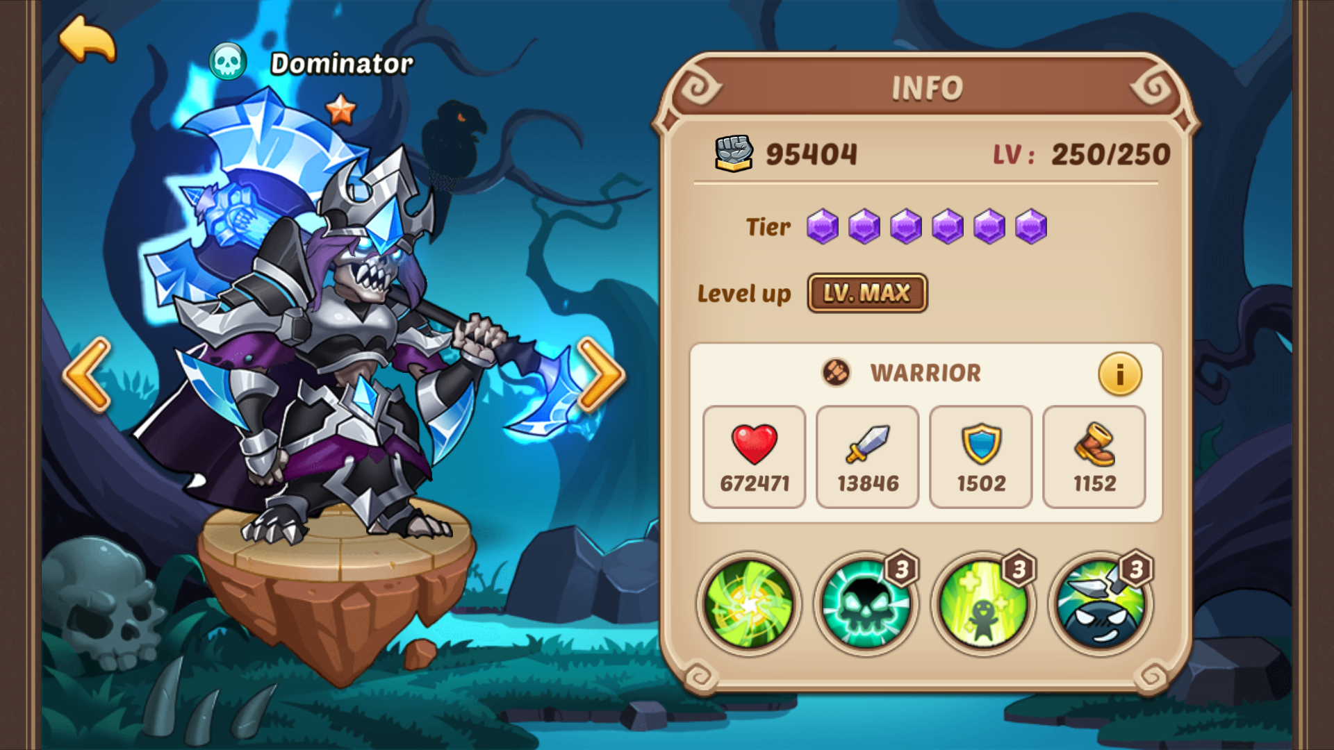 Dominator | IdleHeroes Wiki | FANDOM powered by Wikia