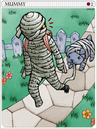 Mummy-card