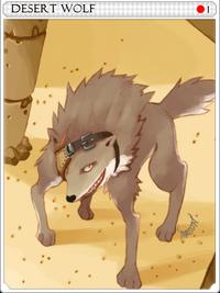 Desert Wolf-card