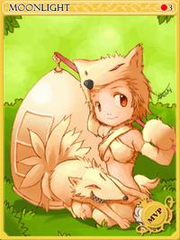 Moonlight Flower-card