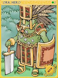 Orc Hero-card