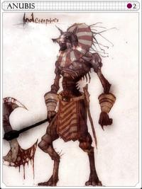 Anubis-card