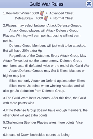 Guild Wars Rule