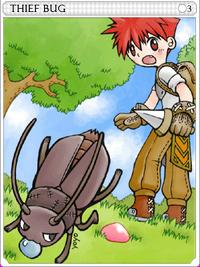 Thief Bug-card