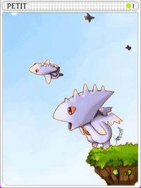 Petite (Sky)-card