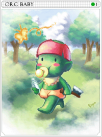 Orc Baby-card
