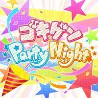 Gokigen Party Night Logo