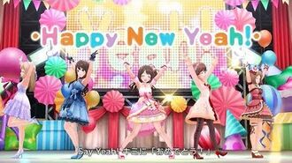 「デレステ」Happy New Yeah! (Game ver.)