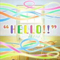 HELLO!! Logo
