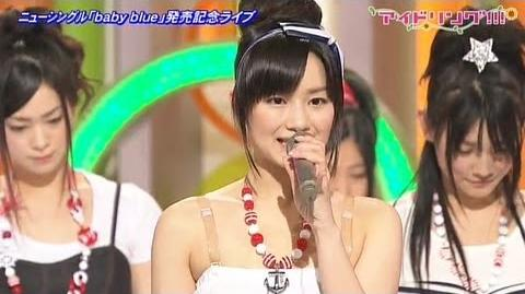 【公式】#503 ニューシングル「baby blue 発売記念ライブ」① 4 4