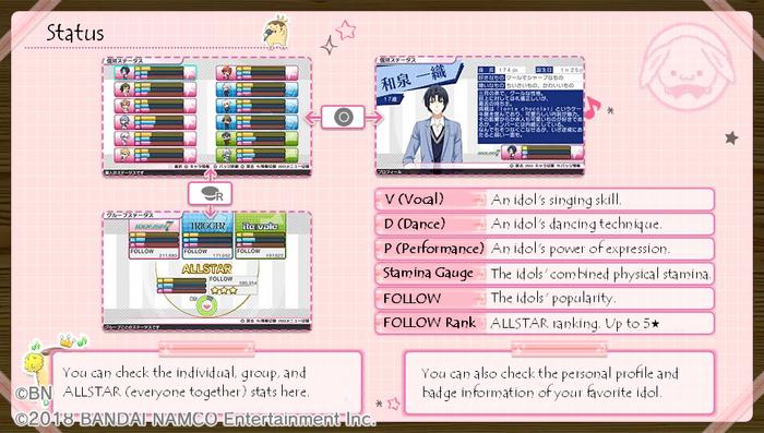 12F Guide - Status