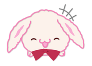 Rabbit Chat Sticker - Kinako1