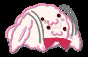 Rabbit Chat Sticker - Kinako5