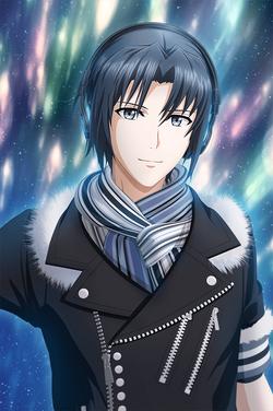 Iori Izumi (Mr AFFECTiON) Borderless