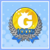 1,000,000 Gold Badge