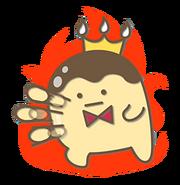 Rabbit Chat Sticker - Pudding3