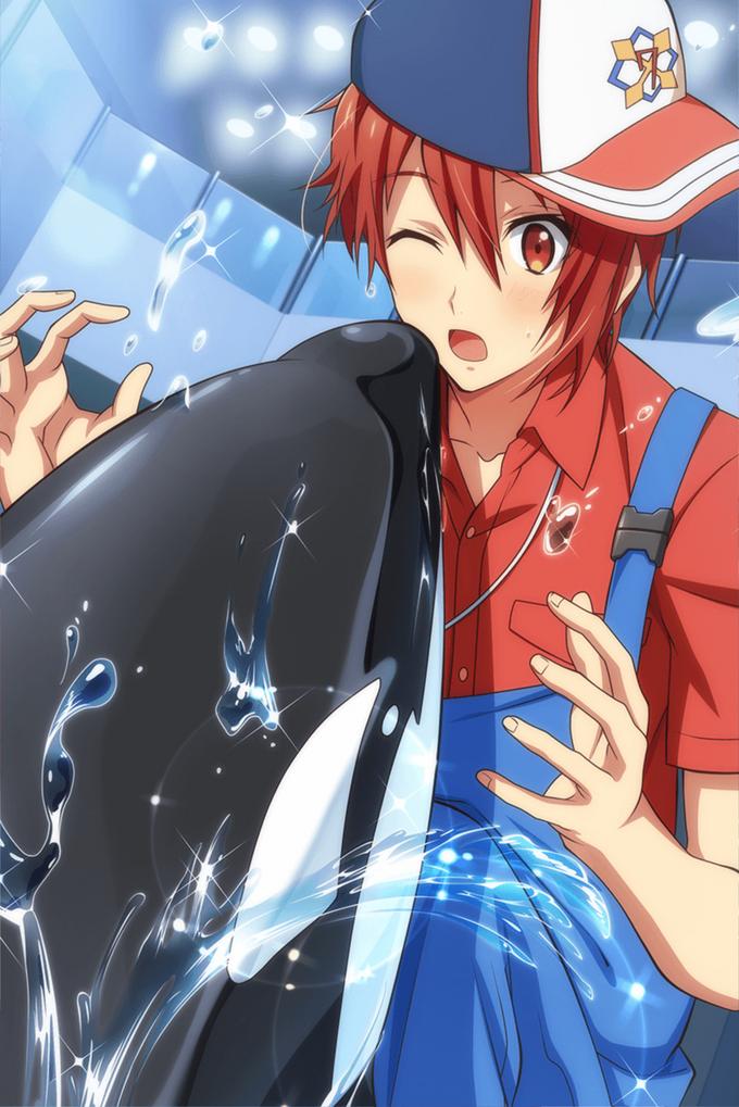 Riku Nanase (Work 2) Clean