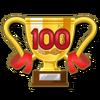 100 FC Badge