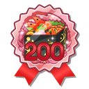 Rank 200 Badge