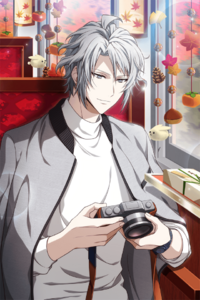 Gaku Yaotome (Swaying on the Manami Railway) Borderless
