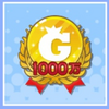 10,000,000 Gold Badge