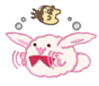 Rabbit Chat Sticker - KinakoPuddi3