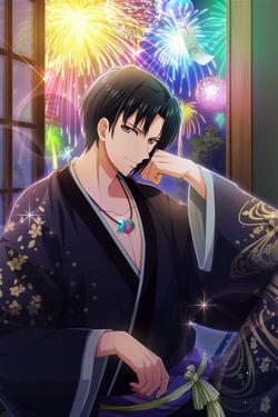 Iori Izumi (Flowers Reflected in Your Image) Borderless