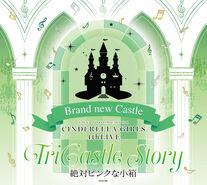 THE IDOLM@STER CINDERELLA GIRLS 4thLIVE TriCastle Story -Brand new Castle- Original CD Zettai Pink na Kobako