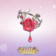 THE iDOLM@STER Stella Stage DLC Cosmo Rose Accessory