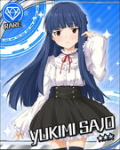 R Rare Yukimi Sajo Unawakened