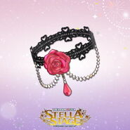 THE iDOLM@STER Stella Stage DLC Tearful Rose Accessory