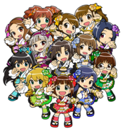 THE IDOLM@STER MUST SONGS Character Render