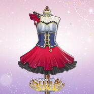 THE iDOLM@STER Stella Stage DLC Cosmo Girls Costume
