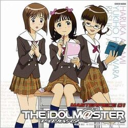 THE IDOLM@STER MASTERPIECE 01 Cover