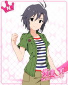 N Normal Makoto Kikuchi Unawakened (Theater Days)