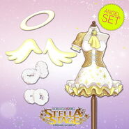 THE iDOLM@STER Stella Stage DLC Angel Set